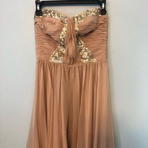 Rebecca Taylor Blush Pink Dress